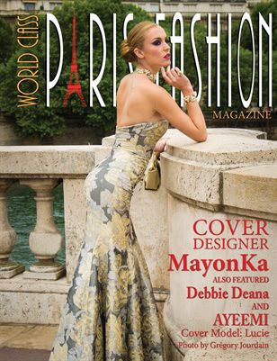 World Class Paris Fashion Magazine with MayonKa