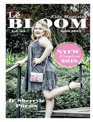 Le Bloom Kids Magazine Kinley Shillins