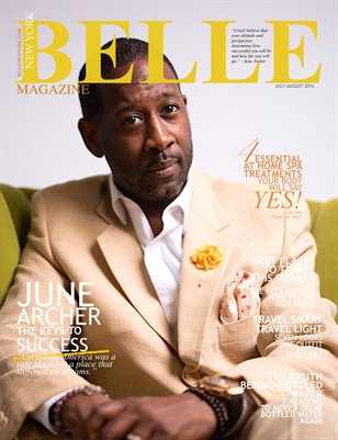 BELLE New York Magazine July/August Issue