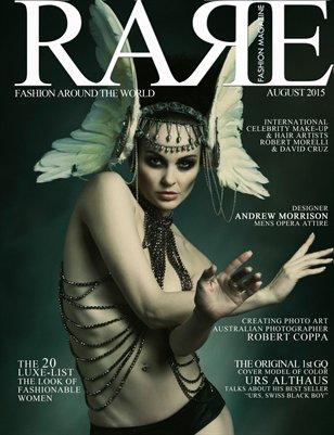 Rare Fashion Magazine August Issue