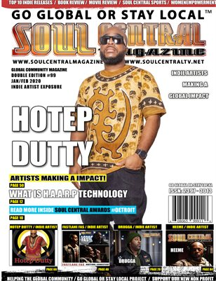 Soul Central Magazine Edition #99 Dutty Hotep
