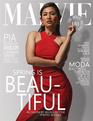 MALVIE Magazine The Artist Edition Vol 181 April 2021