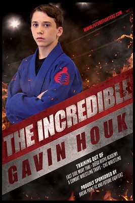 Gavin Houk Flaming - Poster