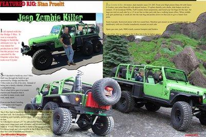 Magazine Jeep Zombie Killer P. 1-2