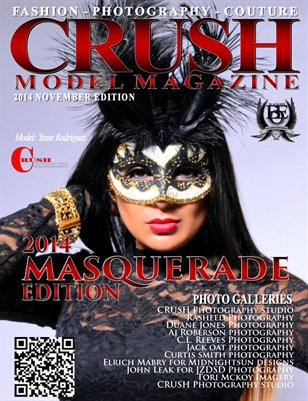 CRUSH MODEL MAGAZINE 2014 MASQUERADE EDITION