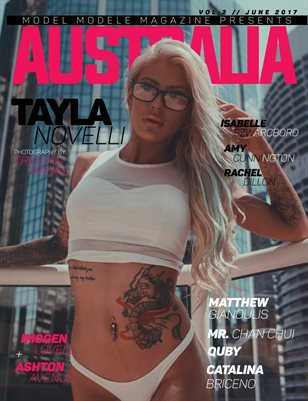 Model Modele Magazine Presents Australia (Tayla)