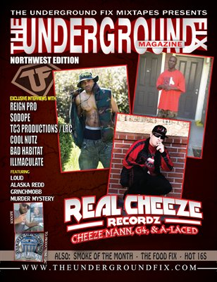 The Underground Fix Magazine 'North West Edition'