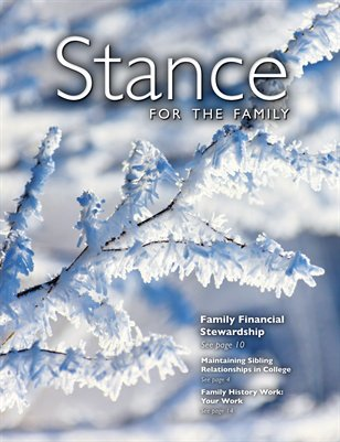Stance for the Family: December/January 2013