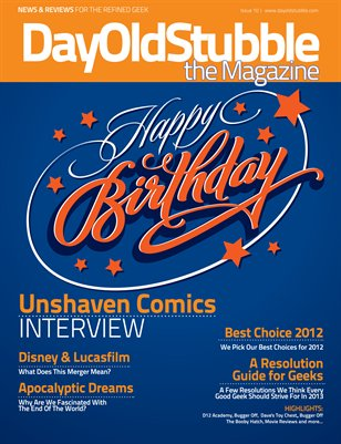 Issue 10 : January 2013 | Our Birthday Bash