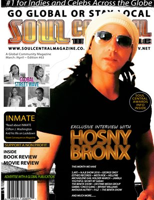 Soul Central Magazine Edition 63 HOSNY BRONX