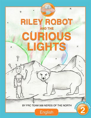 Riley Robot and the Curious Lights - English