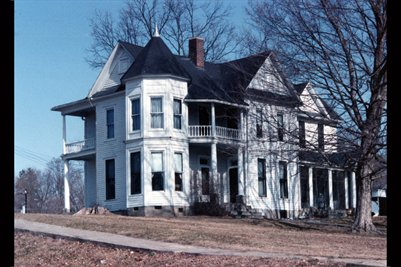 Old Turk Family Home in Bardwell, Kentucky (torn down years ago)