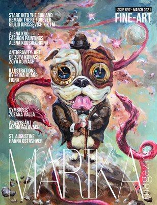 MARIKA MAGAZINE FINE-ART (ISSUE 697 - MARCH)