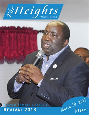 Volume 4 Issue 12 - Prayer Temple C.O.G.I.C. Revival 2013
