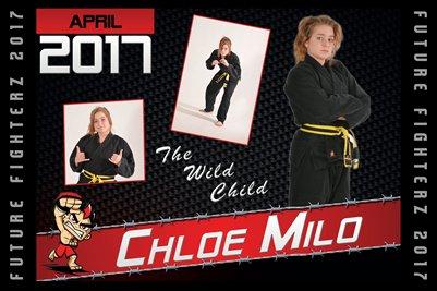 Chloe Milo Cal Poster 2017