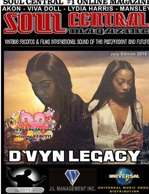 Soul Central Magazine July Edition 2015 Limited Edition