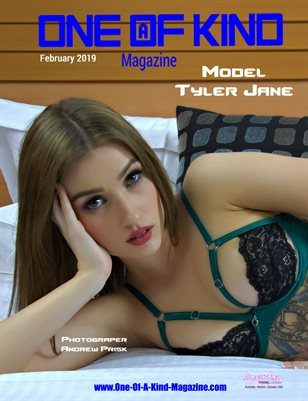 ONE OF A KIND MAGAZINE - Cover Model Tyler Jane - February 2019