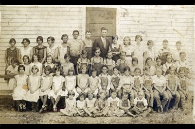 1931 PLEASANT GROVE SCHOOL, MARSHALL COUNTY, KENTUCKY