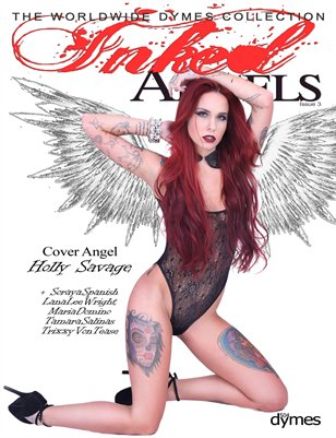504Dymes Inked Angels Vol. 3 - Holly Savage Collector's Edition