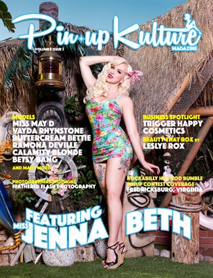 Pinup Kulture Magazine Volume 2, Issue 3