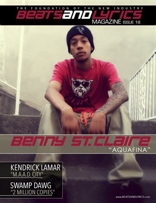 Beats And Lyrics Magazine Issue 18 (Benny St. Claire)