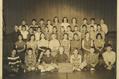 Oct. 22, 1952, No. 46 6th Grade Marion, Grant County, Indiana