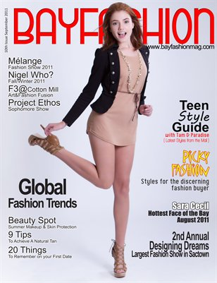 BAYFashion Magazine September 2011 Fashion Show Issue