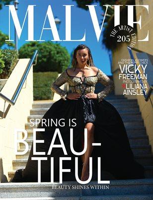 MALVIE Magazine The Artist Edition Vol 205 May 2021