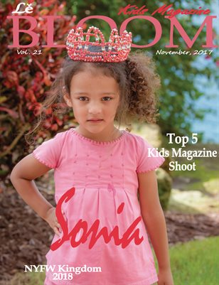Le Bloom Kids Magazine Sonia
