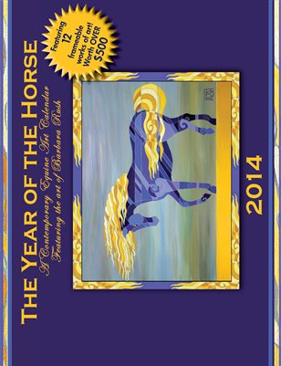 The Year of the Horse Wall Calendar 11x8.5 inches