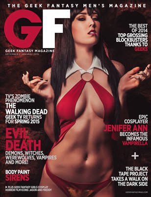 Geek Fantasy - Dec/Jan 2015 - Evil Death: Vampirella
