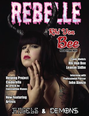 Rebelle Magazine Angels & Demons Issue (Rhi Von Bee Cover)
