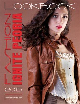 Fashion Ignite Peoria 2015 Lookbook Cover 3