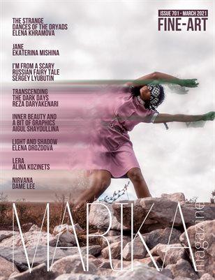 MARIKA MAGAZINE FINE-ART (ISSUE 701 - MARCH)
