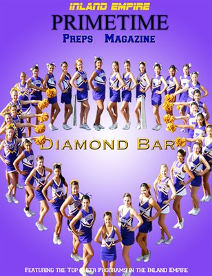 Inland Empire Prime Time Preps Magazine Diamond Bar Cheer Edition April 2012