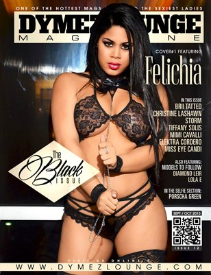 DYMEZLOUNGE MAGAZINE Volume 12 Sept / Oct 2015 Cover 1