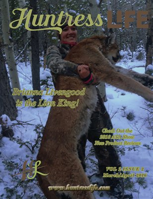 Huntress Life March April 2016