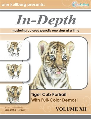 Tiger Cub Portrait in 40 Steps