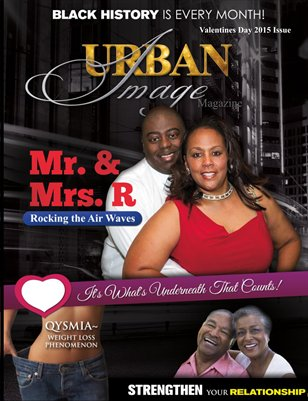 Urban Image Magazine Valentine's Day Issue 2015