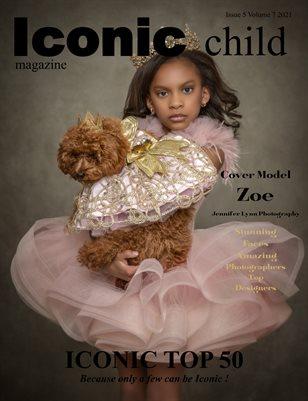 Iconic Child Magazine Issue 5 Volume 7 2021 Iconic Top 50