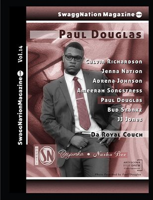 SwaggNationMagazine.com Vol. 14 Paul Douglas Variant cover