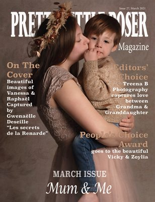 Pretty Little Poser Model Magazine - Issue 27 - Mum & Me - March 2021