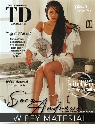 The Definition: Sara Andrews -Wifey Material vol1 Feb.2021 cover 1