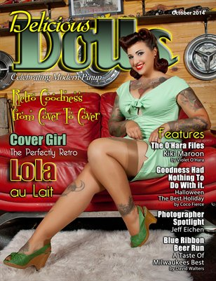 Delicious Dolls October 2014 Issue - Lola au Lait Cover