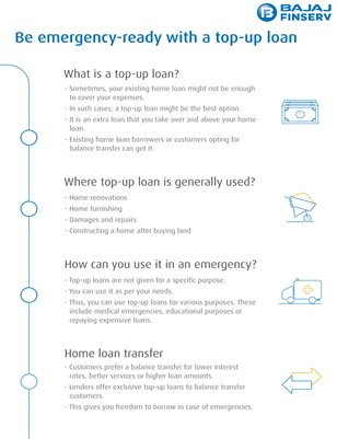 Know How To Be Ready For Emergency with a Top Up Loan