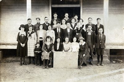 1922-23 Boaz High School, Graves County, Kentucky