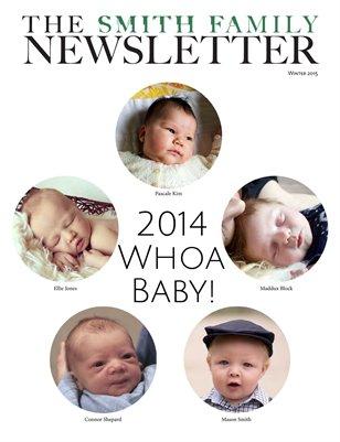 Smith Family Newsletter Winter 2015
