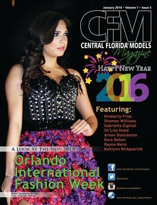 CFM Magazine Vol 1 Issue 5 • January 2016