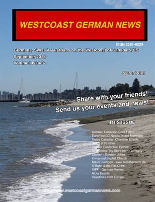 Westcoast German News - September 2013