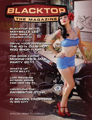 Blacktop Magazine SPE01 - Premier Issue